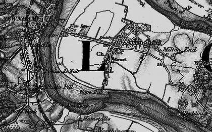 Old map of Arlingham in 1896