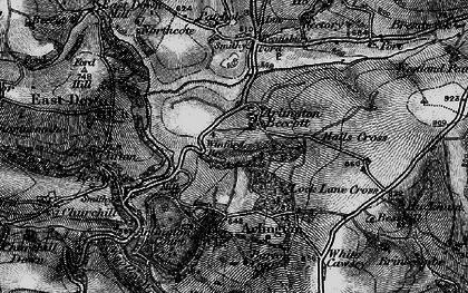 Old map of Arlington Beccott in 1898