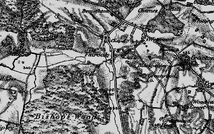 Old map of Armsdale in 1897