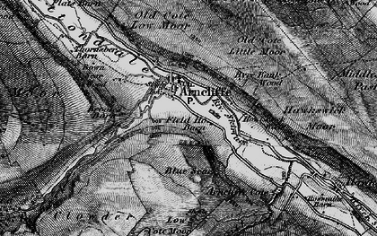 Old map of Arncliffe in 1897