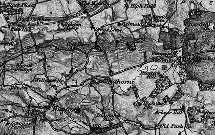 Old map of Arrathorne in 1897