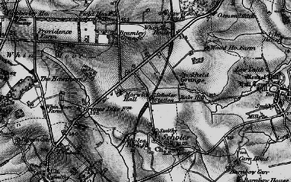 Old map of Arthursdale in 1898