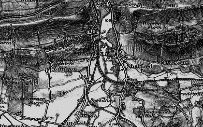 Old map of Artington in 1896