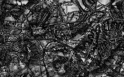 Old map of Ascot in 1896