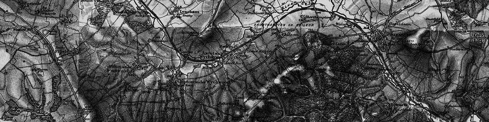 Old map of Ascott-under-Wychwood in 1896