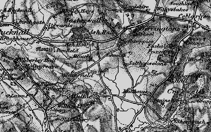 Old map of Ash Bank in 1897