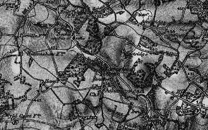 Old map of Ashampstead Green in 1895