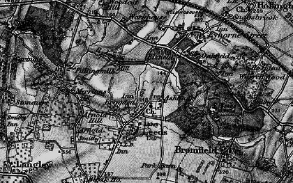 Old map of Ashbank in 1895
