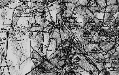 Old map of Ashbury Plantations in 1895