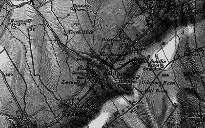 Old map of Lertwell in 1898
