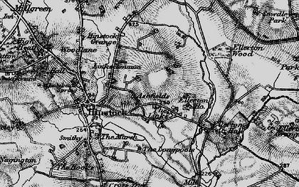 Old map of Ashfields in 1897