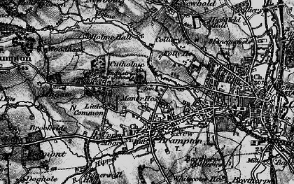 Old map of Ashgate in 1896