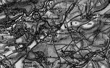 Old map of Ashgrove in 1898