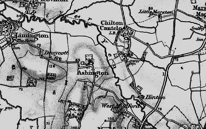 Old map of Ashington in 1898