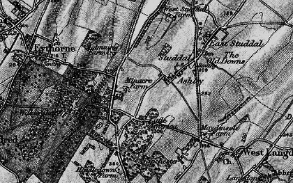 Old map of Ashley in 1895