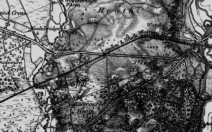 Old map of Wools Br in 1895