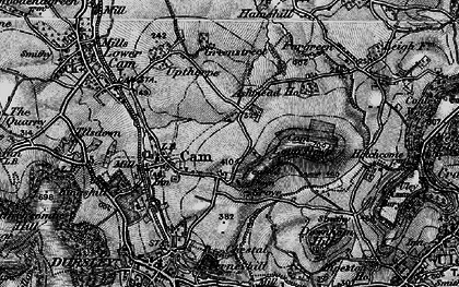 Old map of Ashmead Green in 1897