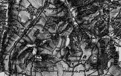 Old map of Ashmore Green in 1895