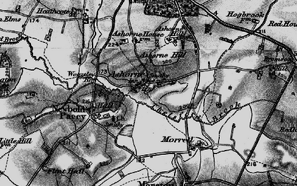 Old map of Ashorne Hill College in 1898