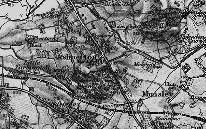 Old map of Ashperton in 1898