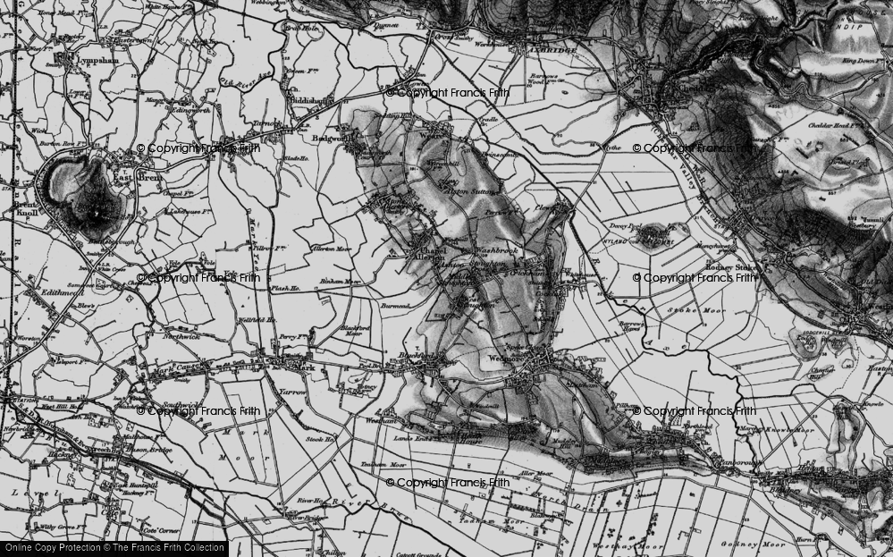 Old Map of Ashton, 1898 in 1898