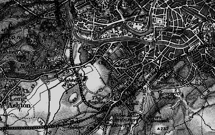 Old map of Ashton Gate in 1898
