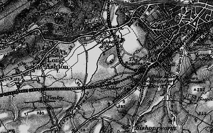 Old map of Ashton Vale in 1898