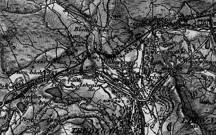 Old map of Ashvale in 1897