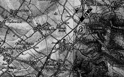 Old map of Askett in 1895
