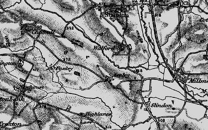 Old map of Aspley in 1897