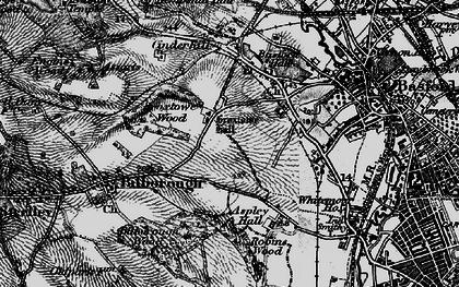 Old map of Aspley in 1899