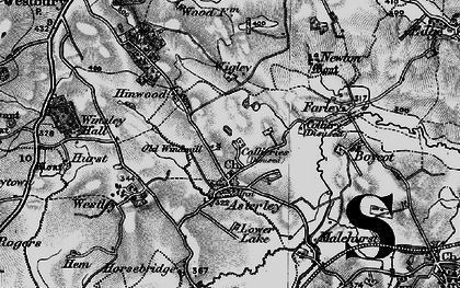 Old map of Asterley in 1899