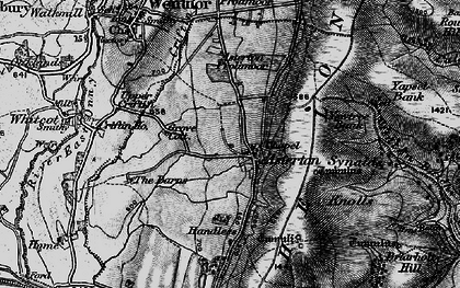Old map of Asterton in 1899