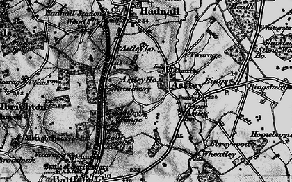 Old map of Astley in 1899