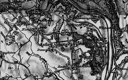 Old map of Astley Abbotts in 1899