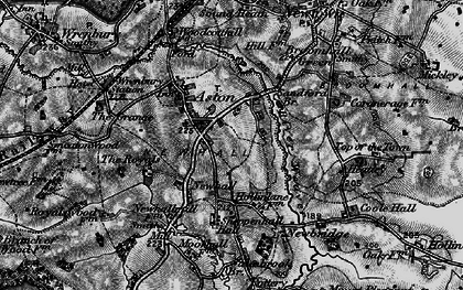 Old map of Aston in 1897