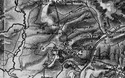 Old map of Aston Abbotts in 1896