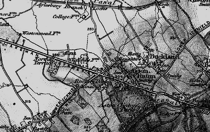 Old map of Aston Clinton in 1895