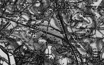Old map of Aston Heath in 1896