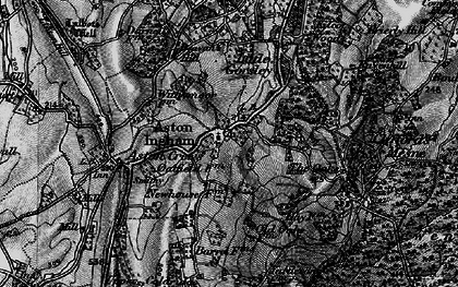Old map of Aston Ingham in 1896