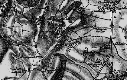 Old map of Atch Lench in 1898