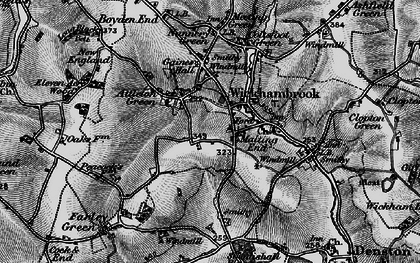 Old map of Attleton Green in 1898