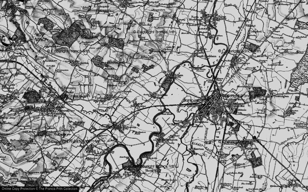 Averham, 1899