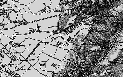 Old map of Awkley in 1898