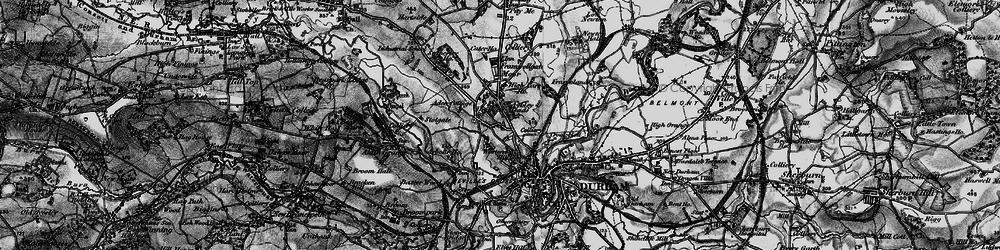Old map of Aden Cott in 1898