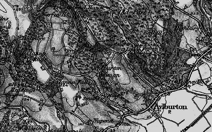 Old map of Aylburton Common in 1897