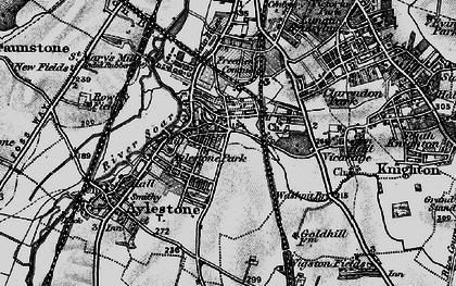 Old map of Aylestone Park in 1899