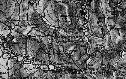 Old map of Back o'th' Brook in 1897