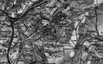 Old map of Bagshaw in 1896