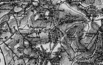 Old map of William Wood in 1895